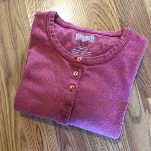 Duluth Cotton Henley Thermal Shirt